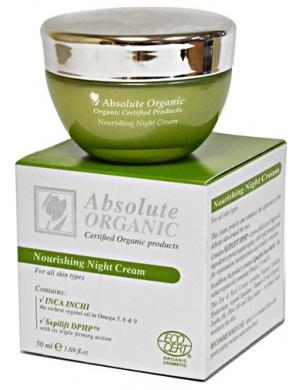 Absolute Organic Przeciwzmarszczkowy krem na noc 50ml