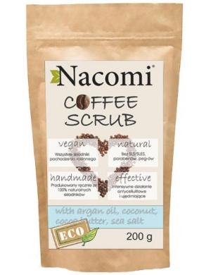 Nacomi Antycellulitowy peeling kawowy do ciała z arganem i solą