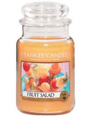 YANKEE CANDLE Duża świeca zapachowa w słoiku Fruit Salad