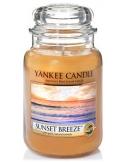 YANKEE CANDLE Duża świeca zapachowa w słoiku Sunset Beeze