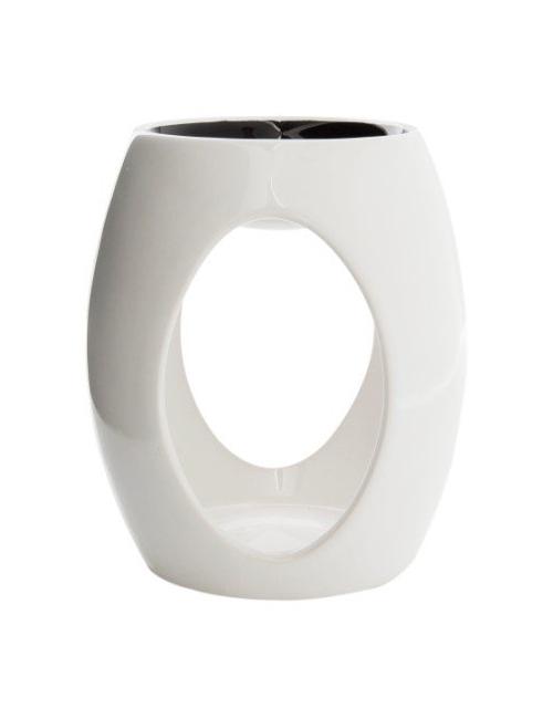 Elegancki kominek ceramiczny do wosków zapachowych