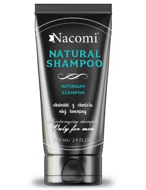 Nacomi Naturalny szampon wzmacniający do włosów dla mężczyzn