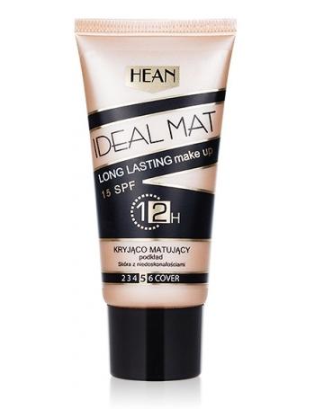 HEAN Matujący podkład kryjący do twarzy Ideal Mat SPF 15