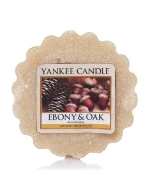 YANKEE CANDLE Wosk zapachowy Ebony & Oak