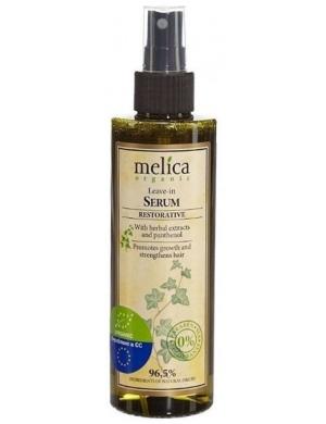 Melica Organiczne serum odbudowujące do włosów z pantenolem