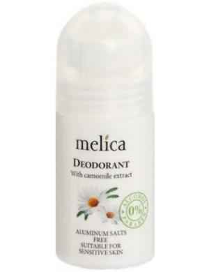 Melica Naturalny dezodorant do skóry wrażliwej z rumiankiem