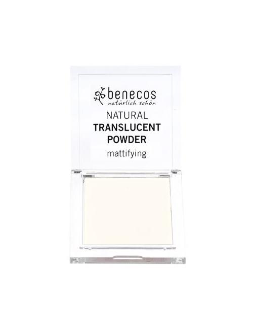 Benecos Transparentny puder matujący do twarzy