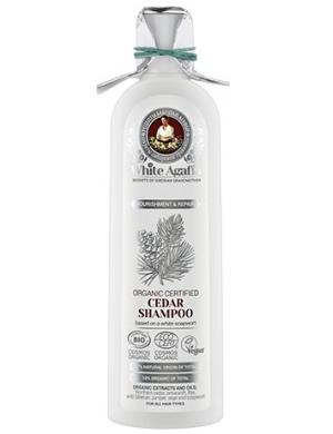 White Agafia Szampon cedrowy Odżywienie & Regeneracja