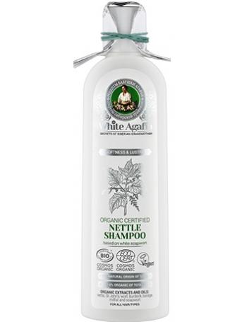 White Agafia Zmiękczający szampon pokrzywowy