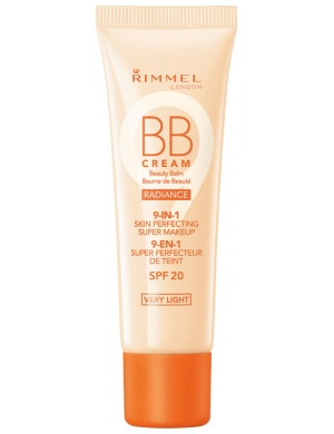 RIMMEL Krem BB Cream Radiance 9-in-1 Skin Perfecting Super Makeup