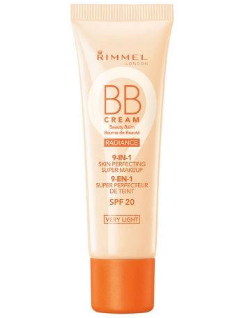 RIMMEL Krem BB Cream Radiance 9-in-1 Skin Perfecting Super Makeup