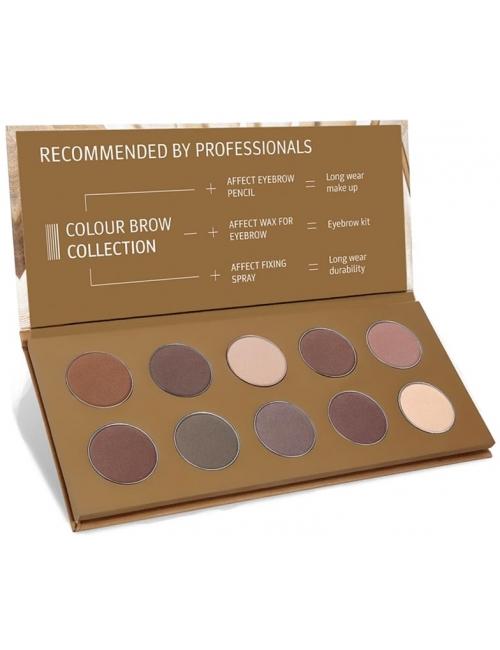 AFFECT Paleta cieni do oczu i brwi Colour Brow Collection