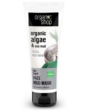 Organic Shop Oczyszczając maska do twarzy Algi & Błoto z Morza Martwego