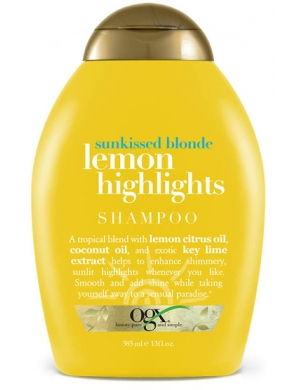 Ogx Szampon do włosów jasnych i blond Lemon Highlights
