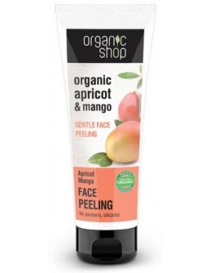 Organic Shop Delikatny peeling do twarzy Morela & Mango
