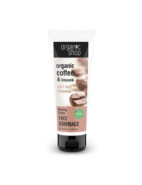 Organic Shop Kawowy peeling - gomaż do twarzy Poranna Kawa