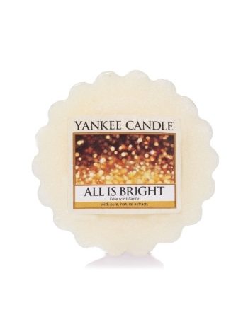 YANKEE CANDLE Wosk zapachowy All is Bright