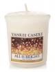YANKEE CANDLE Świeca zapachowa All is Bright - sampler