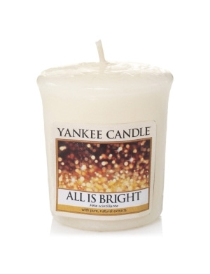 YANKEE CANDLE Świeca zapachowa All is Bright - sampler