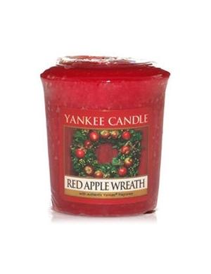 YANKEE CANDLE Świeca zapachowa Red Apple Wreath - sampler