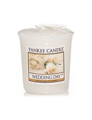 YANKEE CANDLE Świeca zapachowa Wedding Day - sampler