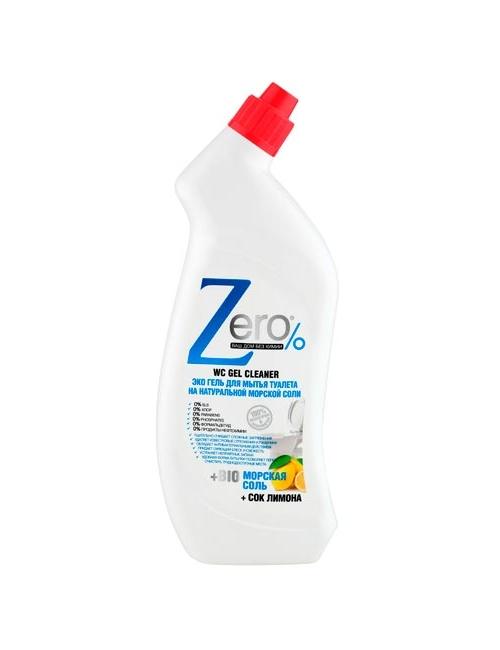 ZERO Ekologiczny żel do czyszczenia toalet Sól Morska i Cytryna