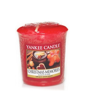 YANKEE CANDLE Sampler Christmas Memories