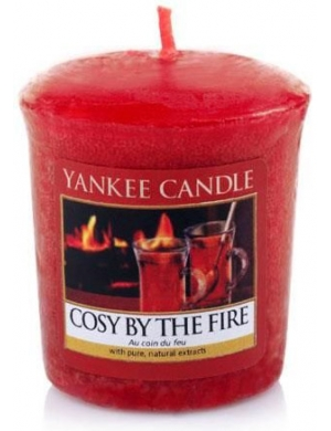 YANKEE CANDLE Świeca zapachowa Cosy by Fire - sampler