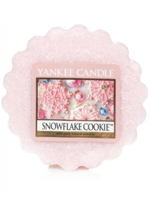 YANKEE CANDLE Wosk zapachowy Snowflake Cookie