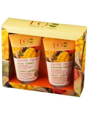 ECOLAB Zestaw kosmetyków naturalnych do ciała Egzotyczne Owoce