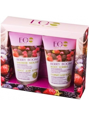 ECOLAB Zestaw kosmetyków naturalnych do ciała Berry Boom