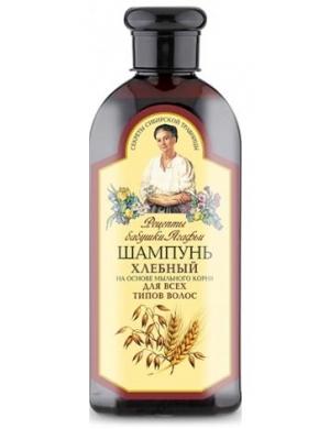 Chlebowy szampon do włosów zniszczonych 3 zboża - Receptury Babuszki Agafii