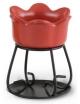 Yankee Candle Kominek do wosków zapachowych Petal Bowl - czerwony