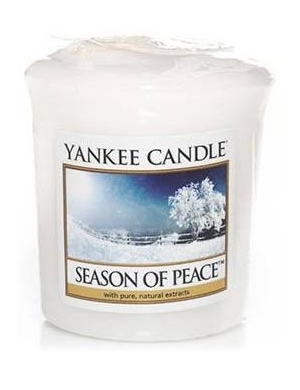 YANKEE CANDLE Świeca zapachowa Season of Peace (sampler)