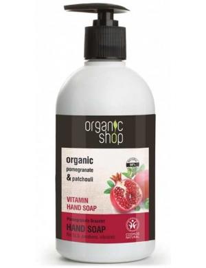 Organic Shop Witaminowe mydło do rąk Owoce Granatu i Paczula