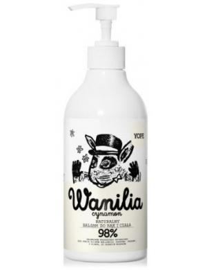 YOPE Naturalny balsam do rąk Wanilia 500ml