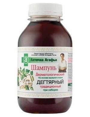 Dermatologiczny szampon dziegciowy - Apteczka Agafii