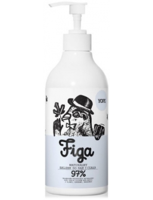 YOPE Naturalny balsam do rąk Figa 500ml