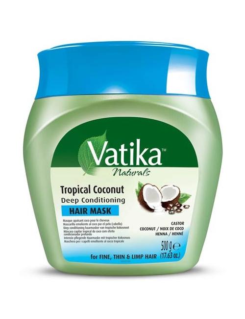Dabur Vatika Głęboko odżywiająca maska do włosów Kokos