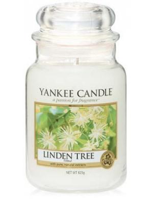 YANKEE CANDLE Świeca zapachowa Linden Tree - duży słój