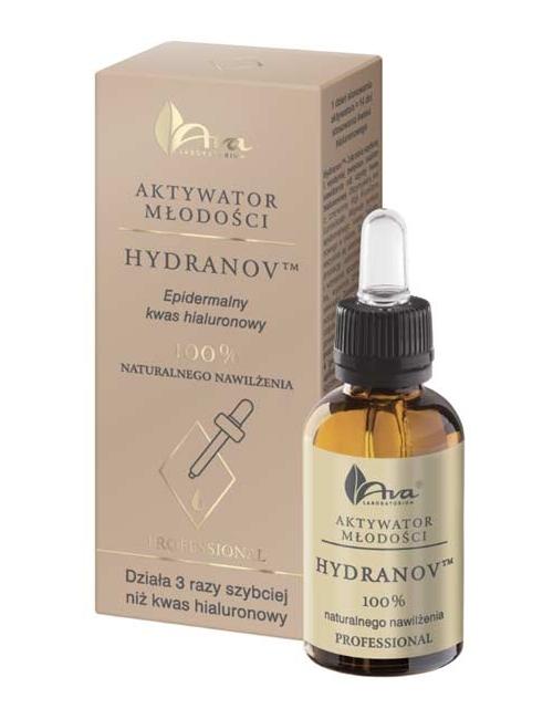 Aktywator Młodości Hydranov - Epidermalny kwas hialuronowy - Ava Laboratorium