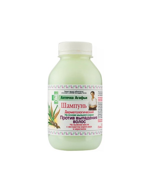 Dermatologiczny szampon przeciw wypadaniu włosów - Apteczka Babci Agafii