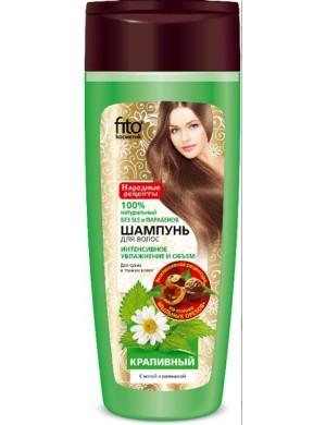 FITOKOSMETIK Pokrzywowy szampon do włosów suchych i cienkich