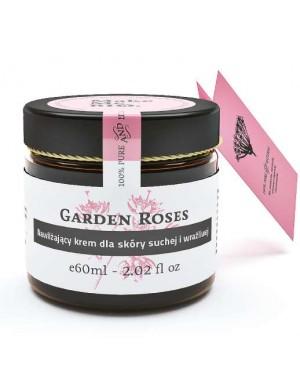 Make Me Bio Krem nawilżający dla skóry suchej i wrażliwej Garden Roses