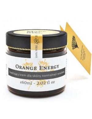 Make Me Bio Nawilżający krem dla skóry normalnej Orange Energy