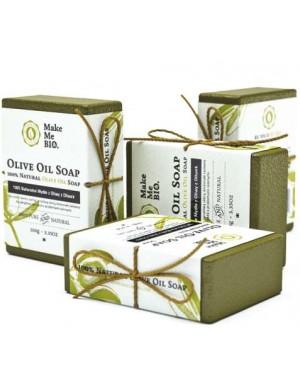 Make Me Bio Naturalne mydło z oliwy z oliwek 100g