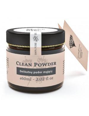 Make Me Bio Delikatny puder myjący z białą glinką Clean Powder
