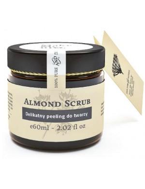 Make Me Bio Delikatny peeling migdałowy do twarzy Almond Scrub