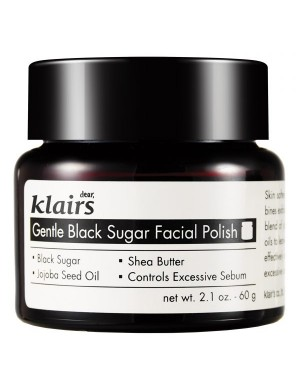 Klairs Scrub do twarzy z czarnym cukrem Black Sugar Facial Polish
