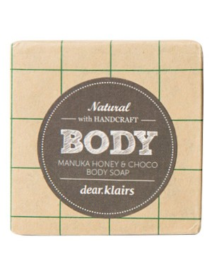 Klairs Mydło z miodem manuka i czekoladą Manuka Honey & Choco Body Soap